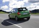 Фото авто Skoda Fabia 5J [рестайлинг], ракурс: 135 цвет: зеленый