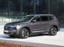 Фото авто Hyundai Santa Fe TM, ракурс: 45 цвет: коричневый