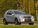 Фото авто Mercedes-Benz M-Класс W164 [рестайлинг], ракурс: 315 цвет: серебряный