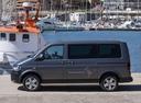 Фото авто Volkswagen Multivan T5 [рестайлинг], ракурс: 90 цвет: серый