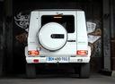Фото авто Mercedes-Benz G-Класс W463 [2-й рестайлинг], ракурс: 180 цвет: белый