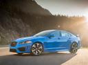 Фото авто Jaguar XF X250 [рестайлинг], ракурс: 45 цвет: синий