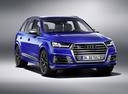 Фото авто Audi SQ7 4M, ракурс: 315 цвет: синий