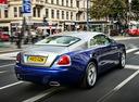 Фото авто Rolls-Royce Wraith 2 поколение, ракурс: 225 цвет: голубой