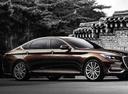 Фото авто Genesis G80 1 поколение, ракурс: 315 цвет: коричневый