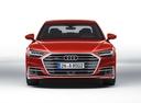 Фото авто Audi A8 D5, ракурс: 0 - рендер цвет: красный