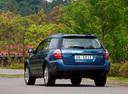 Фото авто Subaru Outback 3 поколение [рестайлинг], ракурс: 135 цвет: синий
