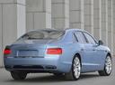 Фото авто Bentley Flying Spur 1 поколение, ракурс: 225 цвет: бирюзовый