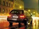Фото авто BMW 5 серия E39, ракурс: 225 цвет: черный