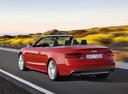 Фото авто Audi S5 8T [рестайлинг], ракурс: 135 цвет: красный