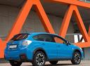 Фото авто Subaru XV 1 поколение [рестайлинг], ракурс: 225 цвет: голубой