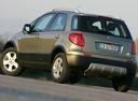 Фото авто Fiat Sedici 1 поколение [рестайлинг], ракурс: 135 цвет: бежевый