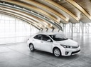 Фото авто Toyota Corolla E160, ракурс: 315 цвет: белый