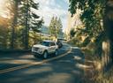 Фото авто Ford Explorer 5 поколение [рестайлинг], ракурс: 45 цвет: белый