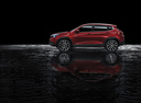Фото авто Chery Tiggo 7 1 поколение, ракурс: 90 цвет: красный