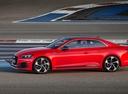Фото авто Audi RS 5 F5, ракурс: 90 цвет: красный