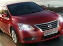 Фото авто Nissan Sentra B17, ракурс: 315 цвет: красный