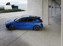 Фото авто Ford Focus 4 поколение, ракурс: 90 цвет: синий