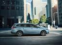 Фото авто Ford Focus 3 поколение [рестайлинг], ракурс: 270 цвет: голубой