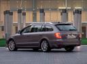 Фото авто Skoda Superb 2 поколение, ракурс: 135 цвет: сиреневый