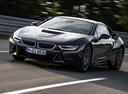 Фото авто BMW i8 I12, ракурс: 45 цвет: серый