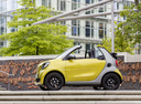 Фото авто Smart Fortwo 3 поколение, ракурс: 90 цвет: желтый