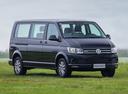 Фото авто Volkswagen Caravelle T6, ракурс: 315 цвет: черный