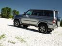 Фото авто УАЗ Patriot 1 поколение [рестайлинг], ракурс: 90 цвет: серый