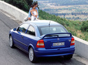 Фото авто Opel Astra G, ракурс: 135 цвет: синий