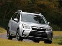 Фото авто Subaru Forester 4 поколение, ракурс: 315 цвет: серебряный