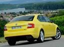 Фото авто Skoda Octavia 3 поколение, ракурс: 225 цвет: желтый