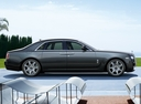 Фото авто Rolls-Royce Ghost 1 поколение, ракурс: 270 цвет: серый