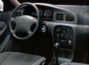 Фото авто Kia Clarus 1 поколение, ракурс: торпедо