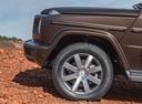 Фото авто Mercedes-Benz G-Класс W464, ракурс: колесо цвет: коричневый