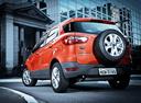 Фото авто Ford EcoSport 2 поколение, ракурс: 135 цвет: оранжевый