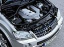 Фото авто Mercedes-Benz M-Класс W164, ракурс: двигатель цвет: серебряный