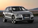 Фото авто Audi Q5 8R [рестайлинг], ракурс: 315 цвет: серый