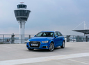 Фото авто Audi A3 8V [рестайлинг], ракурс: 45 цвет: синий