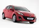 Фото авто Mazda 3 BL, ракурс: 315 - рендер цвет: красный