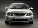 Фото авто Kia Spectra 1 поколение [рестайлинг],  цвет: серебряный