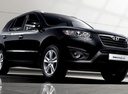 Фото авто Hyundai Santa Fe CM [рестайлинг], ракурс: 315 цвет: черный