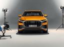 Фото авто Audi Q8 1 поколение,  цвет: оранжевый