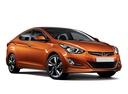 Фото авто Hyundai Elantra MD [рестайлинг], ракурс: 315 цвет: оранжевый