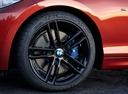 Фото авто BMW 2 серия F22/F23 [рестайлинг], ракурс: колесо цвет: оранжевый