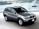 Фото авто BMW X5 E53 [рестайлинг], ракурс: 315 цвет: серебряный