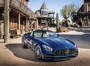 Фото авто Mercedes-Benz AMG GT C190 [рестайлинг], ракурс: 315 цвет: голубой