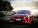 Фото авто Kia Stinger 1 поколение,  цвет: красный