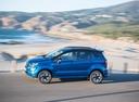 Фото авто Ford EcoSport 2 поколение [рестайлинг], ракурс: 90 цвет: синий
