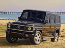Фото авто Mercedes-Benz G-Класс W463 [рестайлинг], ракурс: 45 цвет: черный