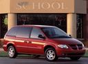 Фото авто Dodge Caravan 4 поколение, ракурс: 315 цвет: красный